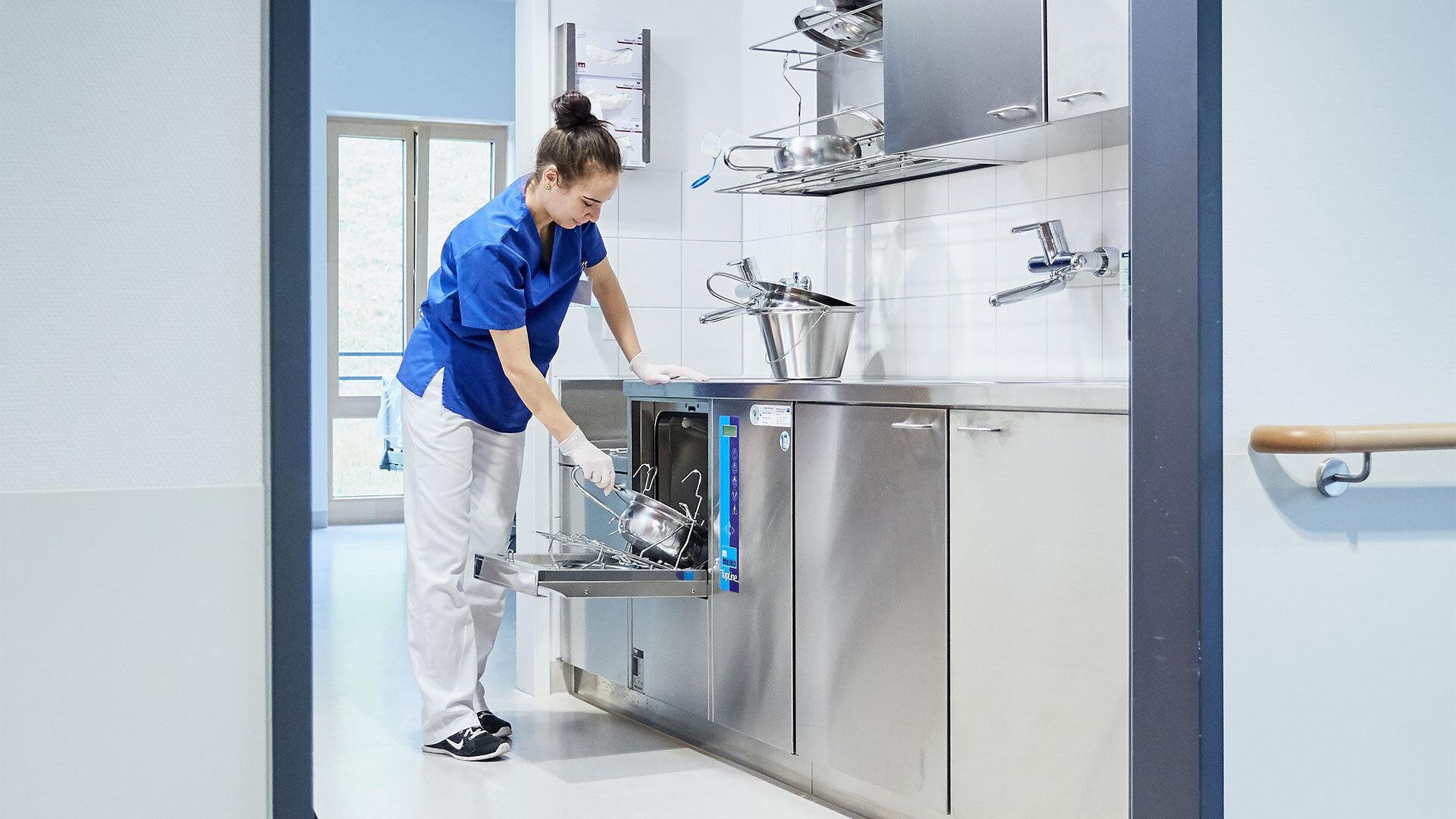 Meiko Reinigung in der Tropenklinik Tuebingen