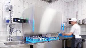 Meiko schnelle Haubenspülmaschine