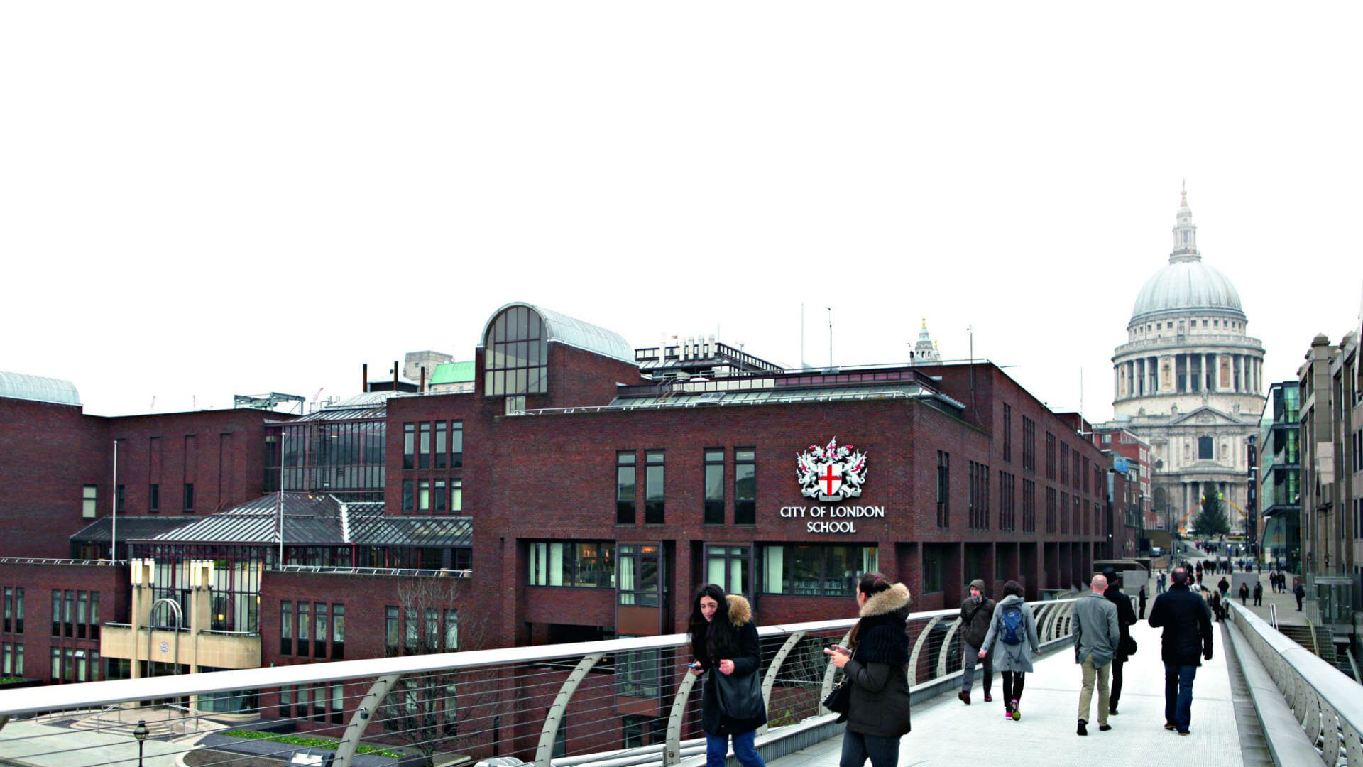 Outside view City of London School