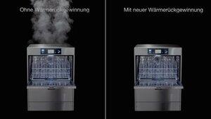 Geschirrspüler MEIKO M-iClean U Dampfreduktion