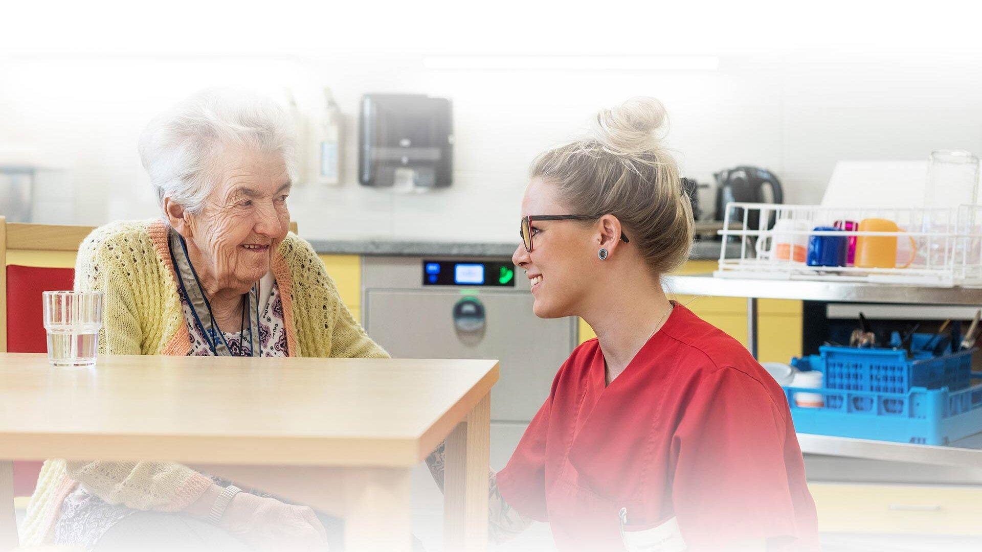 Segment soin des personnes âgées