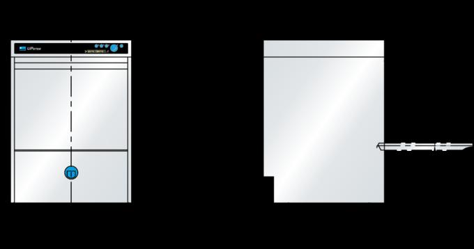 Meiko Größenangaben Spülmaschine UPster
