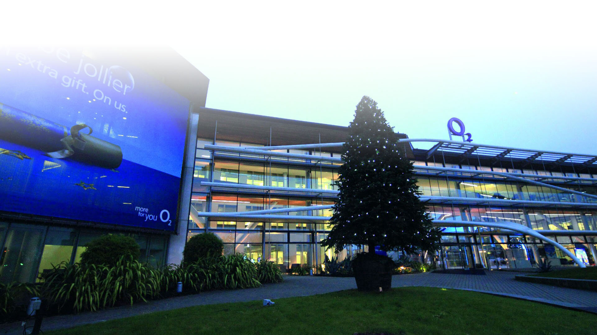 ISS O2 at Slough