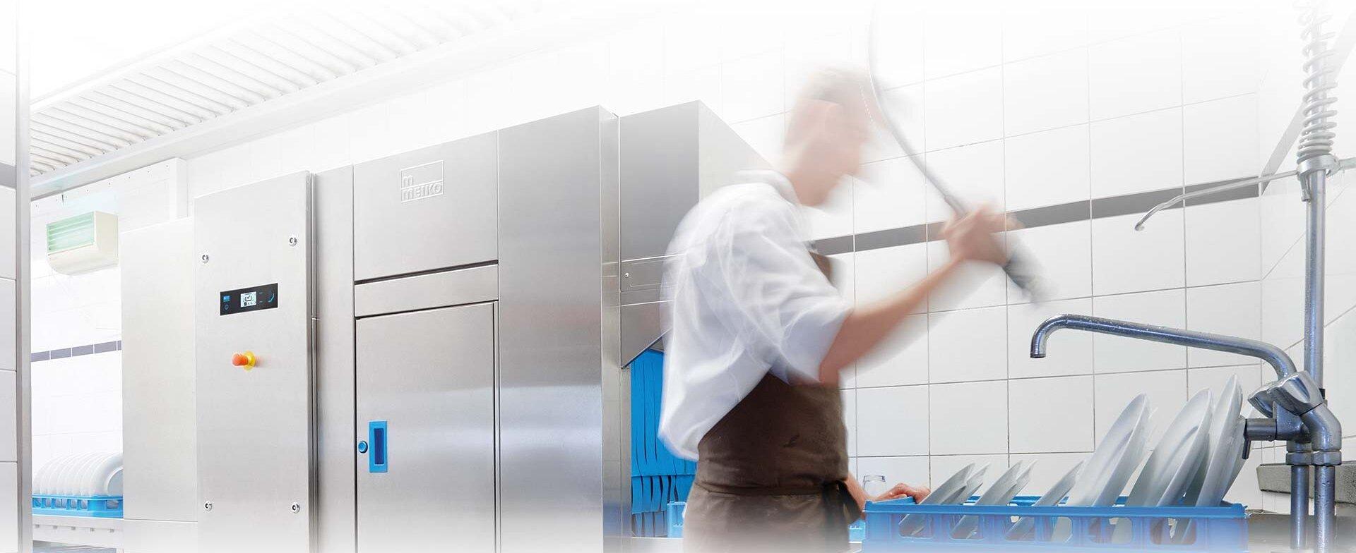 The UPster K dishwasher