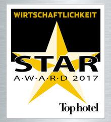 TopHotel StarAward2017 gazdaságosság