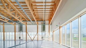 Inside the grid-supportive, zero-energy building Source: Bernhard Strauss Photography, Freiburg