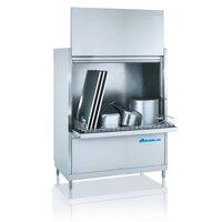 tall industrial dishwasher