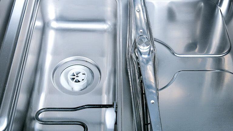 Meiko Vue intérieure sous le lave-vaisselle