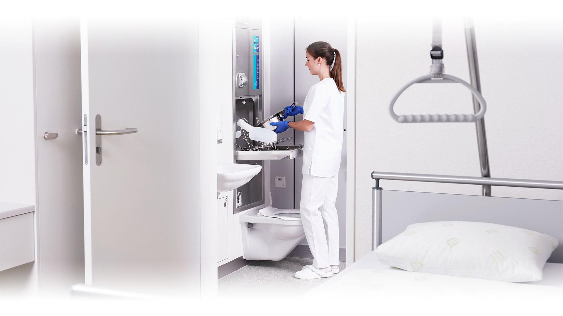 Desinfektion im Krankenhaus
