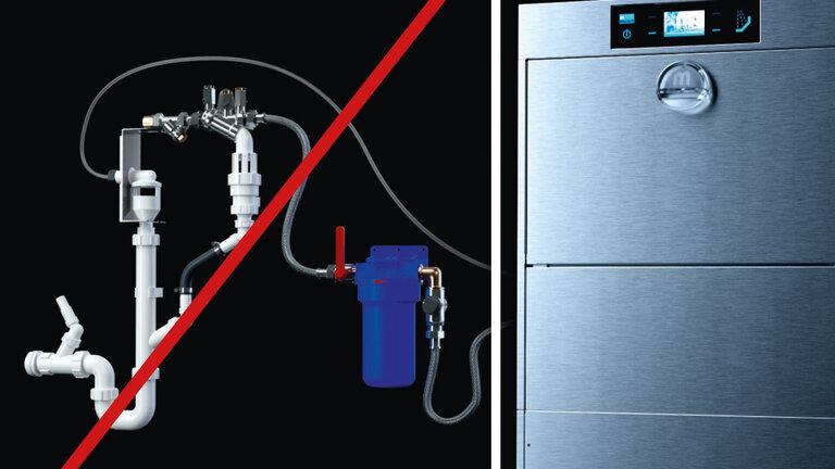 Vorinstallation M-iClean U Spülmaschine