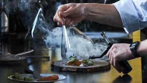 Beim Barfood stellten die Köche ihr Können unter Beweis