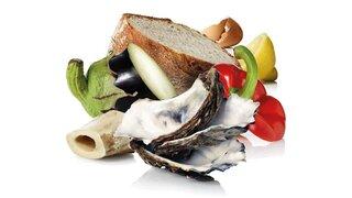Jeter les déchets de cuisine