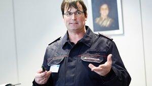 Ralf Wieseke, Feuerwehr Lahr, war bei der Entwicklung des Topclean M beteiligt