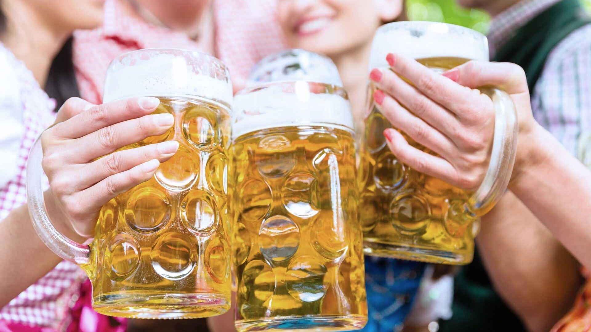 Gepflegter Biergenuss aus sauberen Gläsern – kein Problem dank Meiko
