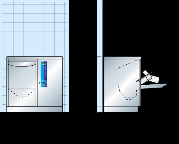 Plano de dimensiones TopLine 40