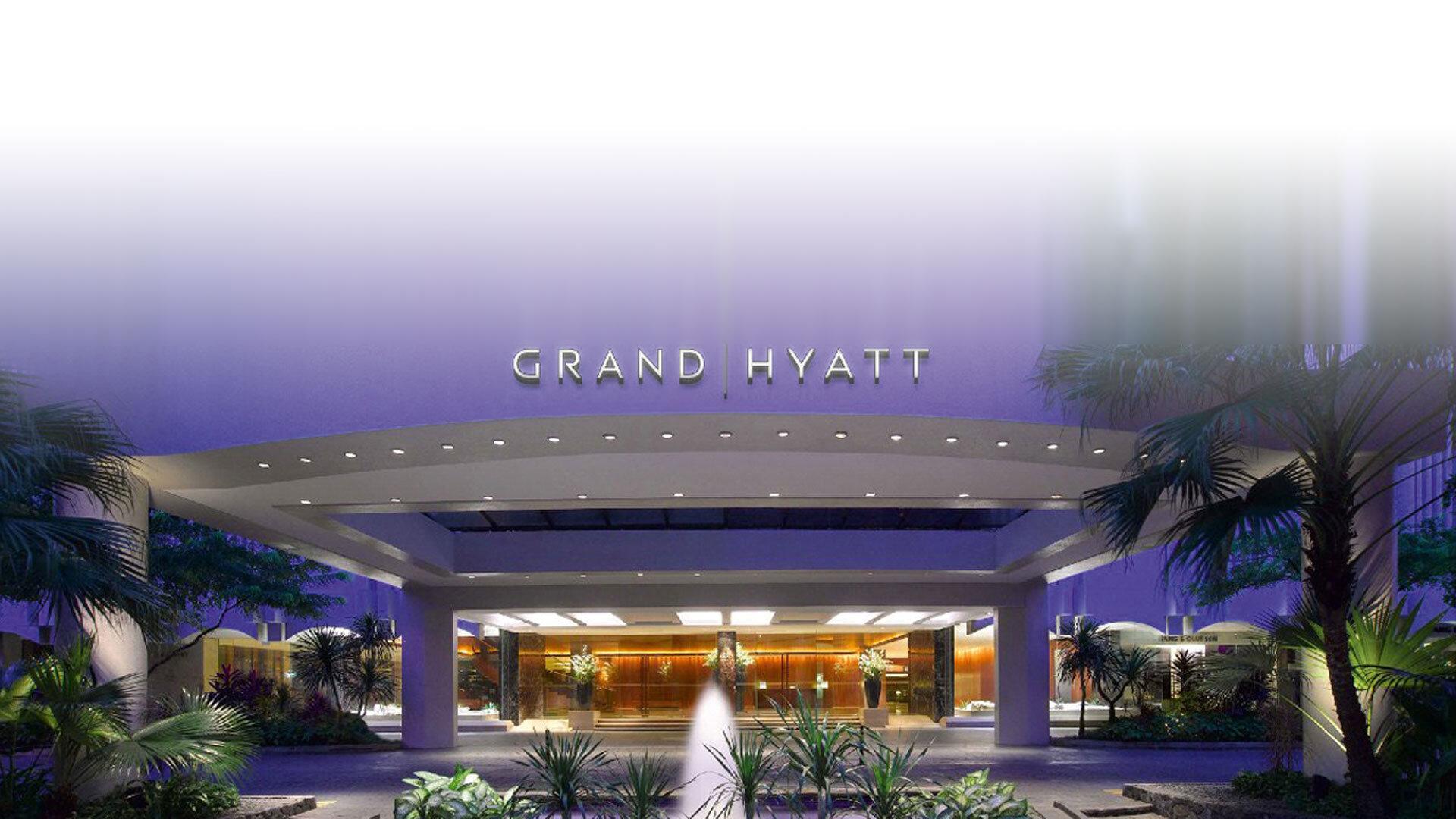 Planta de sobras Grand Hyatt Singapur