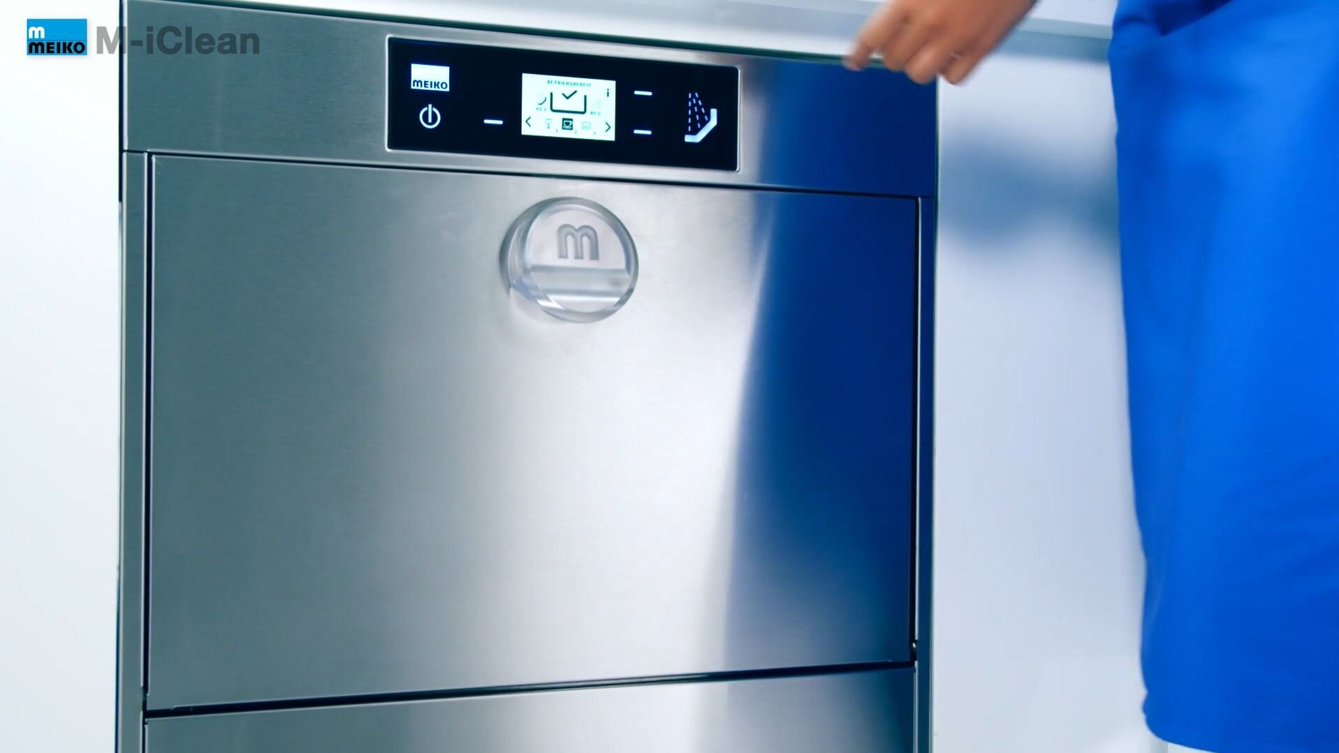 La beauté du lavage en action - M-iClean
