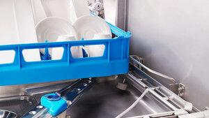 Meiko Haubenspülmaschine Korberkennung
