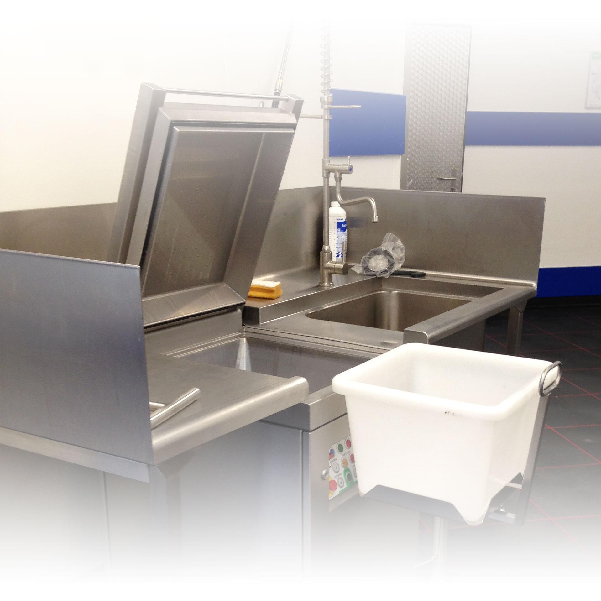 Meiko Ansicht Hygienestation