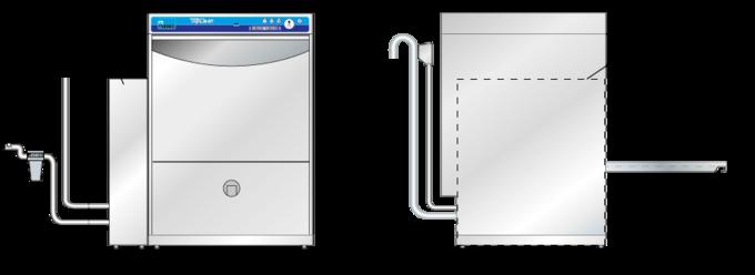 Measurements TopClean M disinfector appliance
