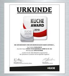 CUISINE AWARD 2018 Argent