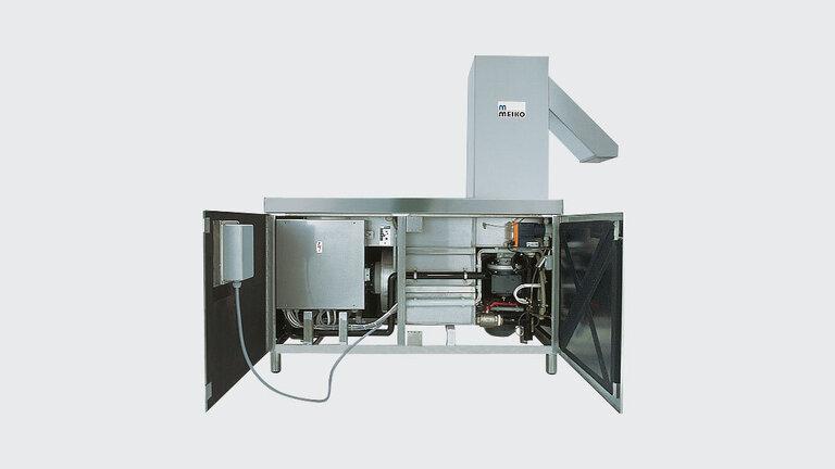MEIKO Máquina abierta para la eliminación de residuos de alimentos