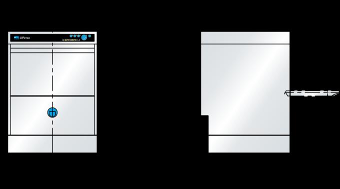 Meiko Massblatt Untertischspülmaschine UPster