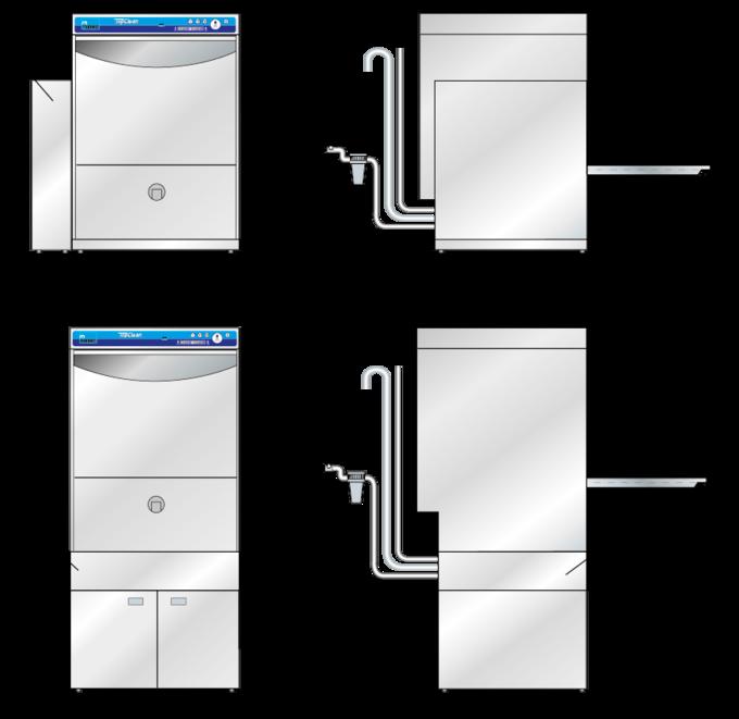 maquina para limpieza y desinfección de utensilios dimensiones