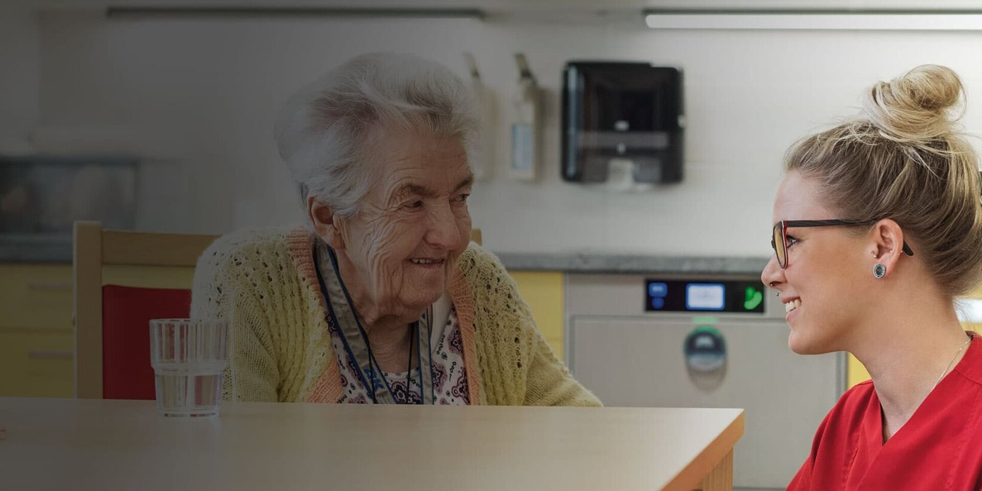 Hospital, rehab and health clinics as well as nursing and care homes