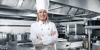 Profi-Köche setzen in der Küche auf Edelstahl