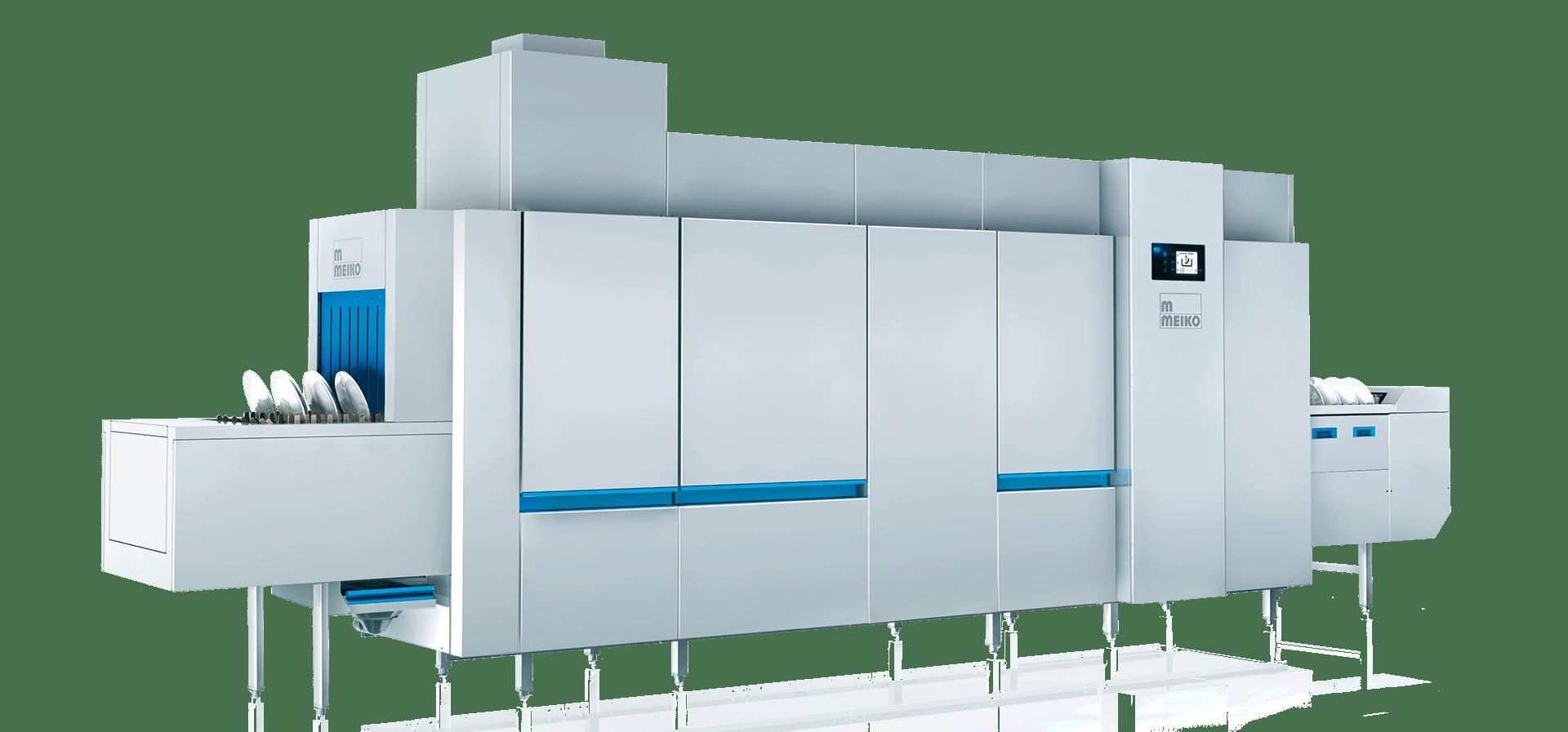the flight type dishwashing machine M-Q