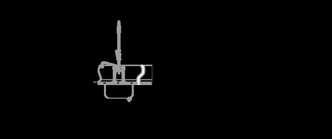Massblatt Korbtransportspülmaschine UPster K
