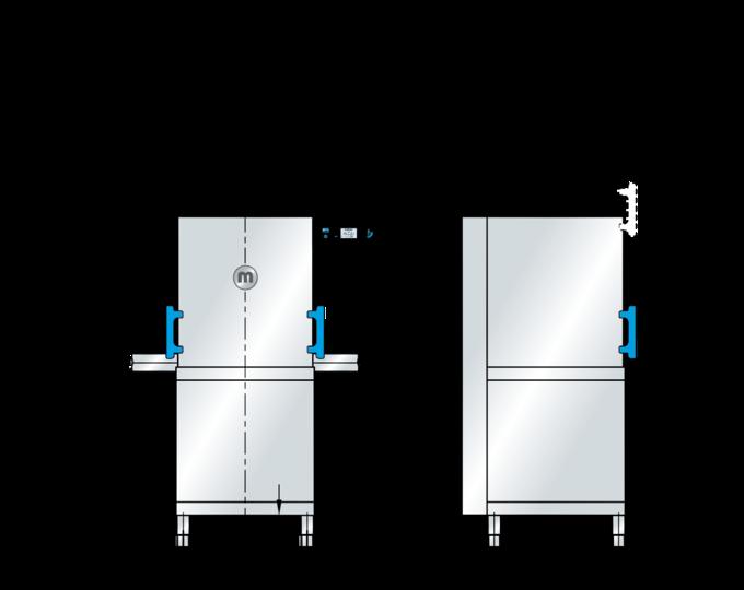 Spülmaschine mit Haube M-iClean