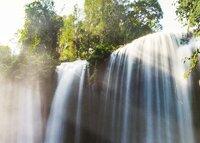 Waterfall dishwashing paradise