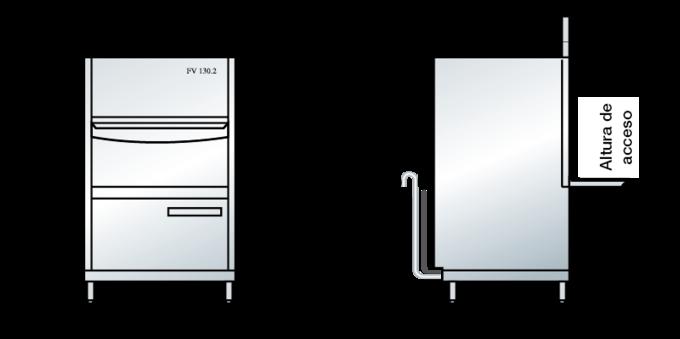 Dimensiones del FV 130.2
