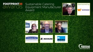 Sustainable Catering Equipment Manufacturer Award win for Meiko BioMaster
