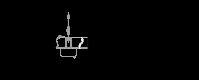 Korbspülmaschine UPster KS200 Massblatt
